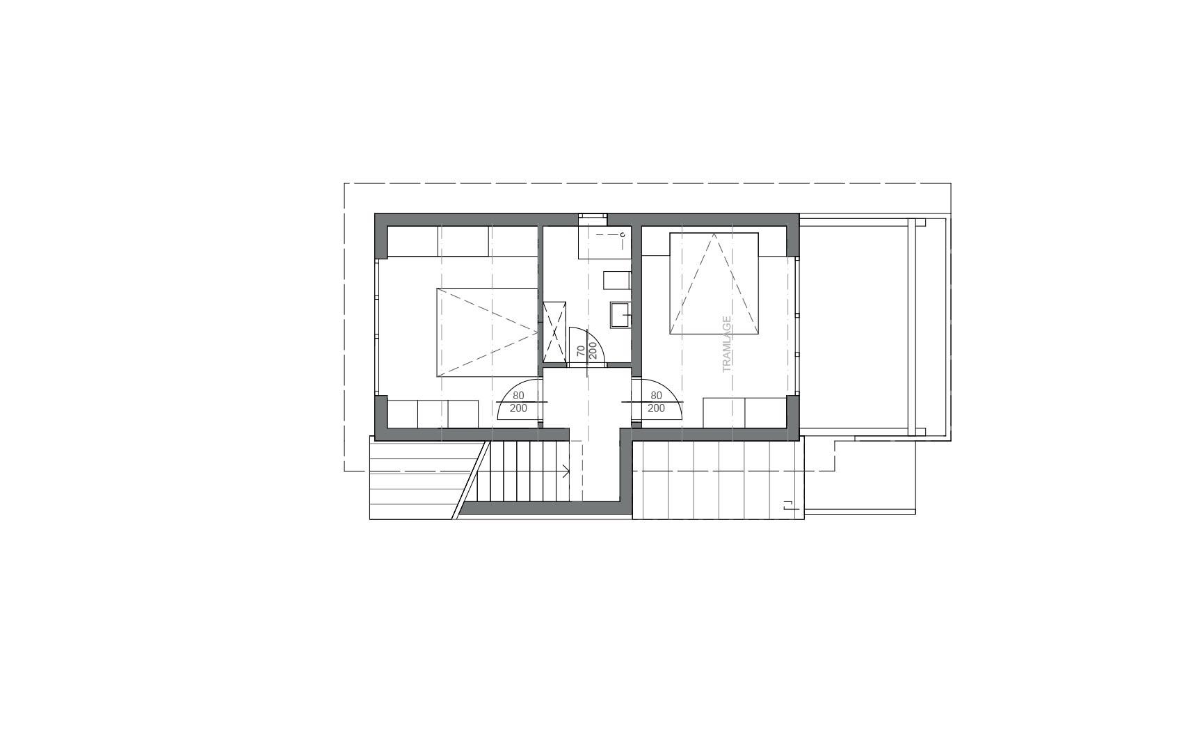 Grundriss 2 / Almdorf-Goldeck